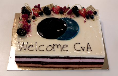 ASIMUT welcome cake for CVA