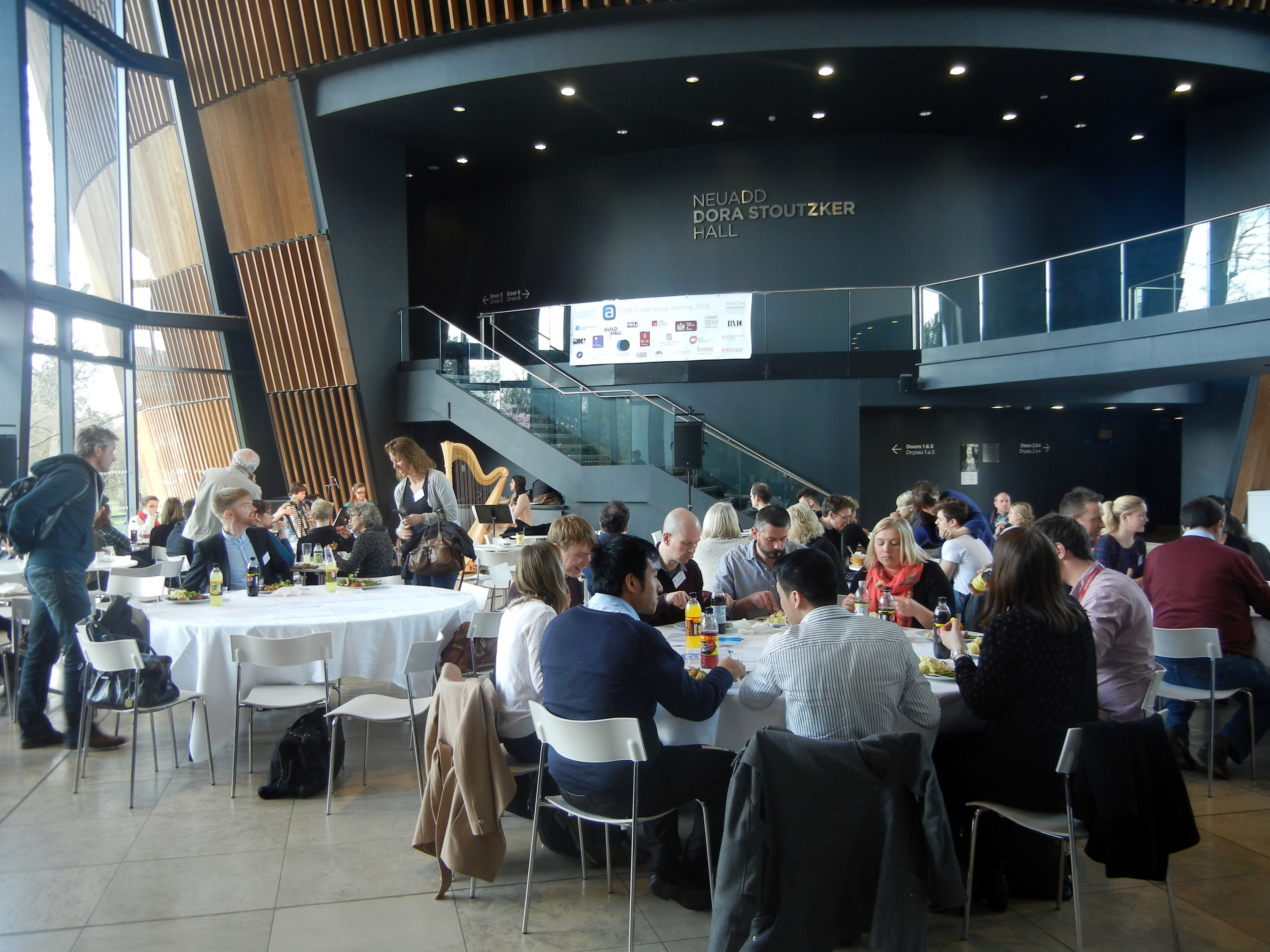 Lunch at the ASIMUT user group meeting 2015