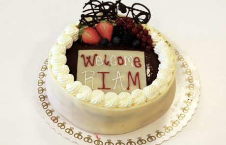ASIMUT welcome cake for RIAM