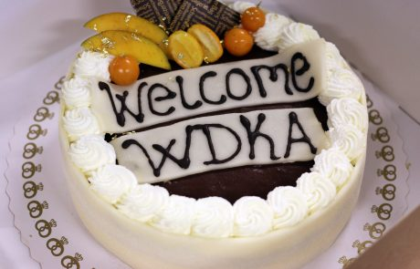 ASIMUT welcome cake for Willem de Kooning Academy