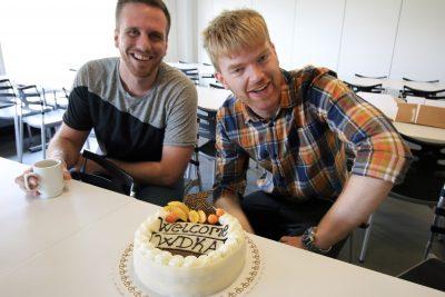 ASIMUT welcome cake for Willem de Kooning Academy