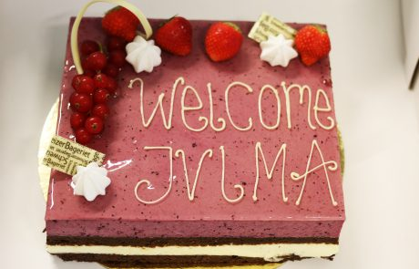 Welcome cake for JVLMA