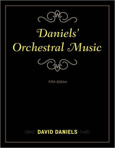 Book cover: Daniels' Orchestral Music by David Daniels