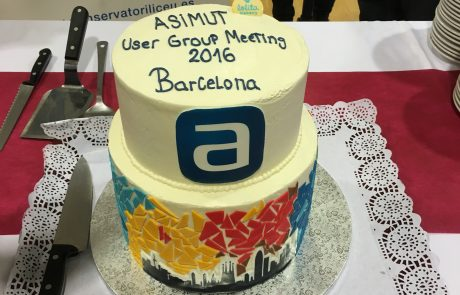 Cake at the ASIMUT user group meeting 2016