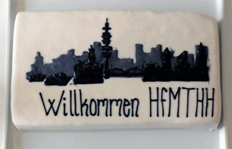 ASIMUT welcome cake for HfMTHH