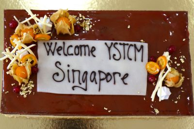 ASIMUT welcome cake for YSTCM