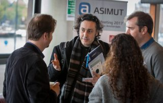 Participants at the ASIMUT user group meeting