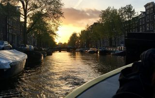 Boat ride at the ASIMUT user group meeting 2017