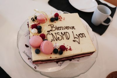 ASIMUT welcome cake for CNSMD Lyon