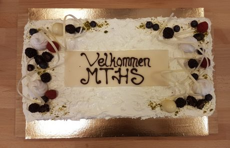 ASIMUT welcome cake for MTHS