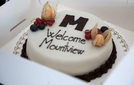 ASIMUT welcome cake for Mountview