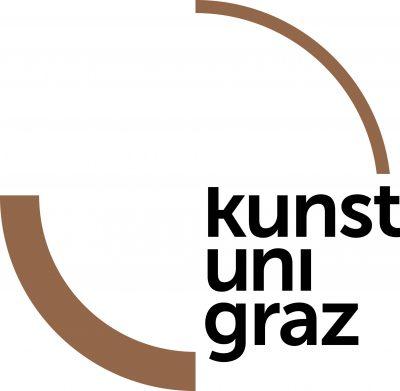Logo kunst uni graz