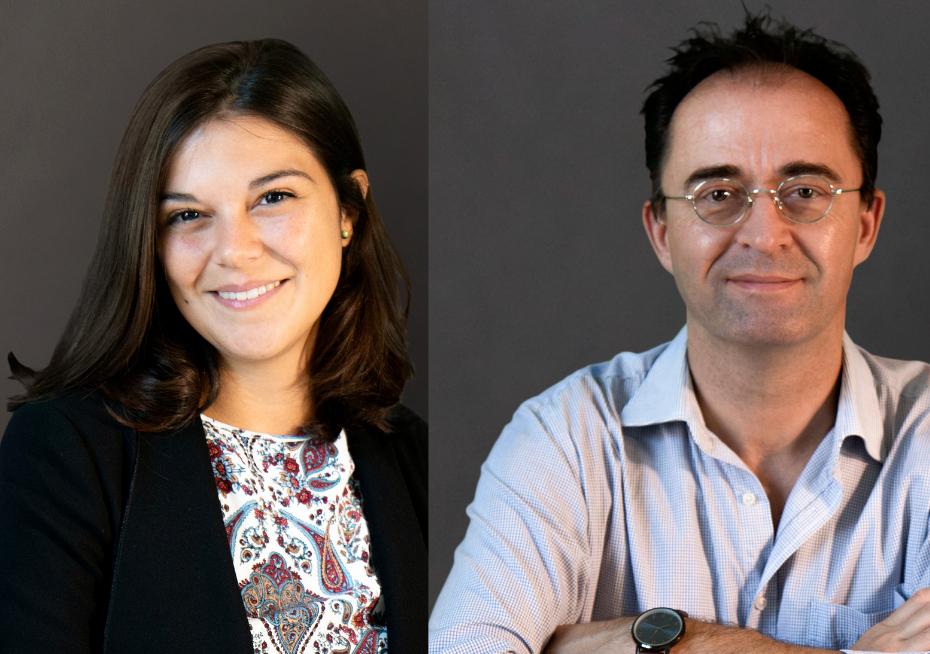 Silvia Bortolotto and Marc Ernesti